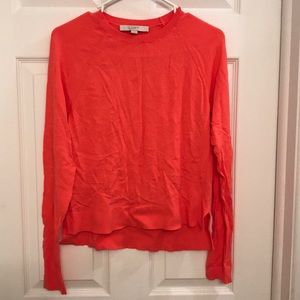 NEOT Loft size small sweater. Coral colored